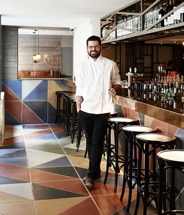 Pastuso, Melbourne chef and co-owner Alejandro Saravia at the pisco bar.