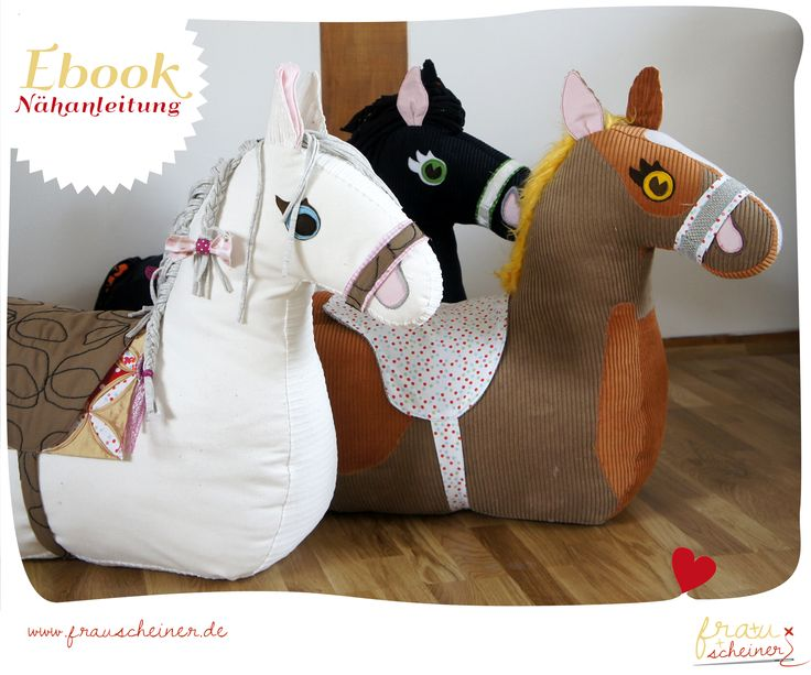 Nähanleitung und Schnittmuster Reittier Pferd  - Schnittmuster und Nähanleitungen - Anleitung bei makerist