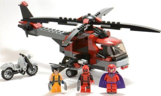 Lego Marvel Super Heroes Wolverine's Chopper Showdown 6866 673419168441 | eBay