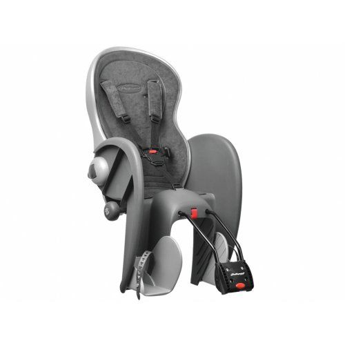 Polisport bike child seat bike-kids seat Wallaby Evolution deluxe - Click image twice for more info - See a larger selection of  Baby Bicycle seats and trailers at  http://zbabybaby.com/category/baby-categories/baby-activity-gear/baby-bicycle-seats-and-trailers/ - gift ideas, baby , baby shower gift ideas , oudoor  « zBabyBaby.com