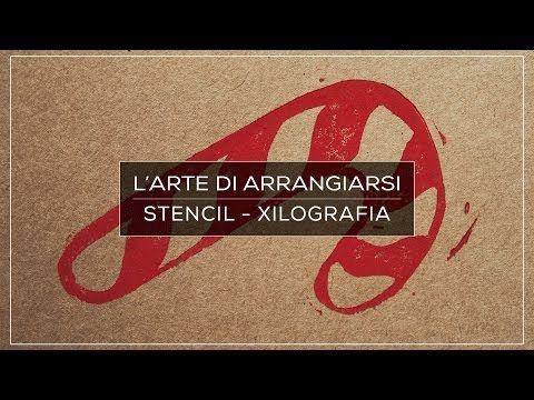 2 Idee per Stampe Stencil e Xilografia fai-da-te di Natale | L'Arte di Arrangiarsi - YouTube