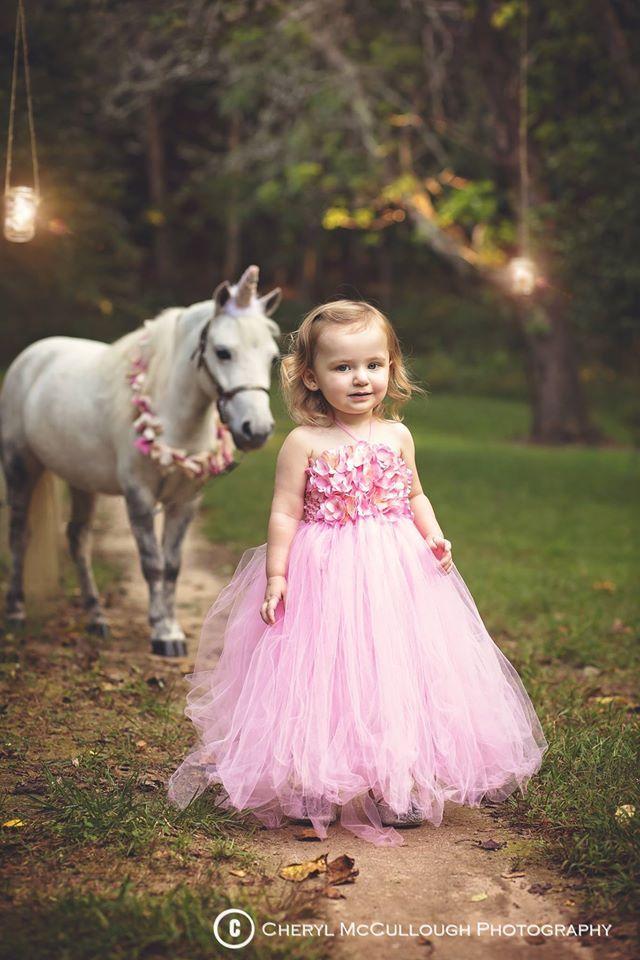 Fantasy Child Portraits by Cheryl McCullough, Unicorn photography, unicorn…