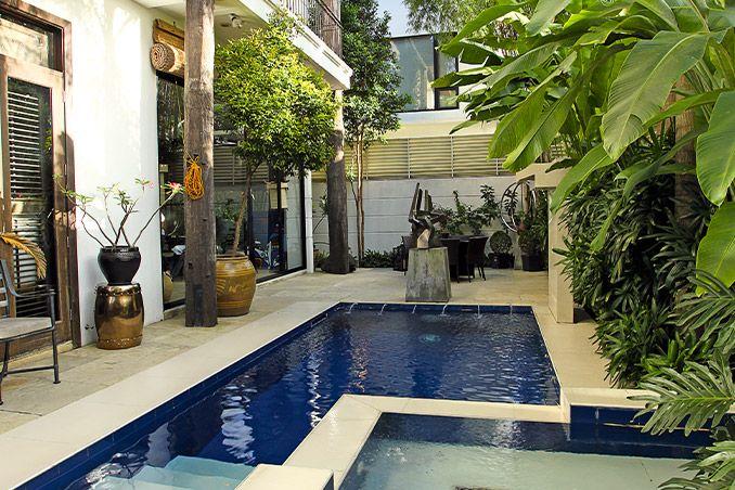 Senator Grace Poe S Family Home In Quezon City House And Home Magazine Grace Poe Tropical House Design