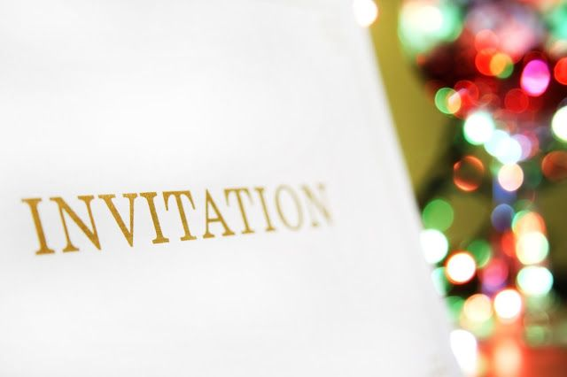 An Invitation to a Royal Wedding