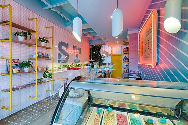 #icecream #helado #heladeria #softtouch #shop #interiordesign #diseñoespacios