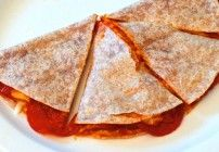 Quick & Easy Microwave Oven Cooked Tortilla Pizza