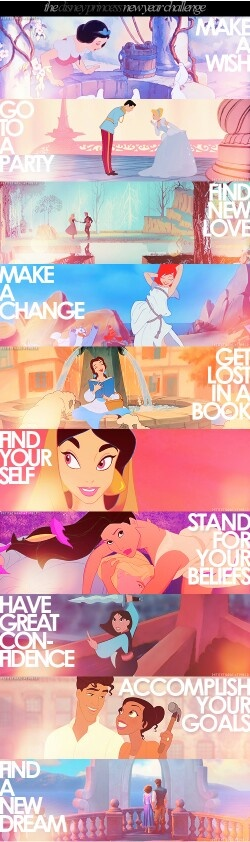 Disney Princess Lessons!