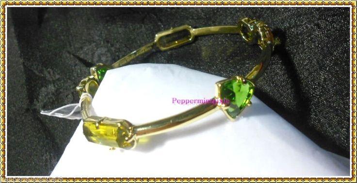 Kate Spade  Desert Stone Bangle Bracelet Gold Plated w/Stones Bag/TagNew WBRU480