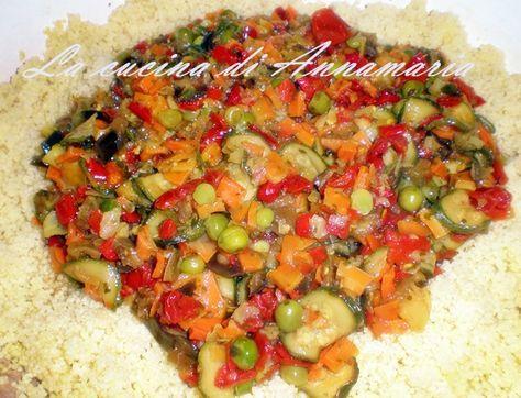 Cous cous alla marocchina con verdure, ricetta etnica