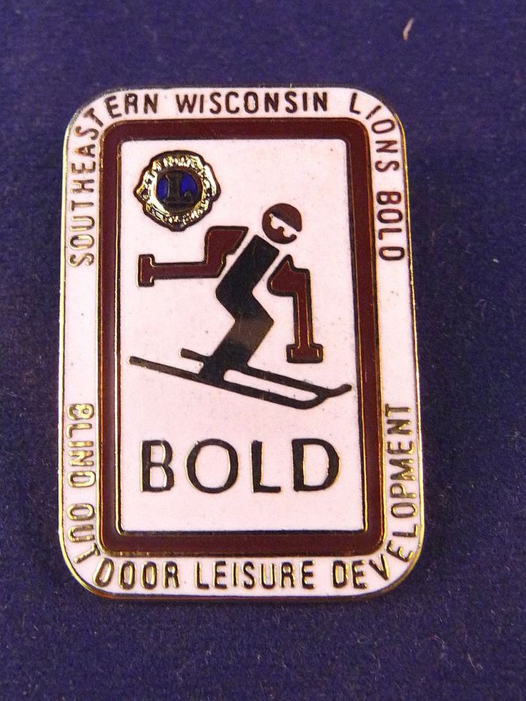 B.O.L.D. is sponsored by Lions, Lioness, and Leo Clubs of Districts 27-A1 and 27-A2 of Southeastern Wisconsin. Southeastern Wisconsin. Event participation is free. BOLD's purpose is to allow the blind and visually impaired to experience outdoor sports and leisure activities while developing their social and athletic skills. | eBay!