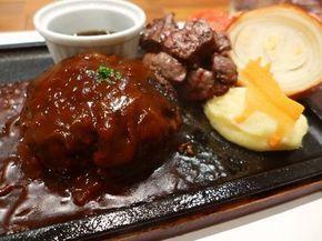 お肉の旨味がぎゅ~っと凝縮した熟成肉のハンバーグが絶品です! 京都市中京区 「ハンバーグ&ステーキ 听 四条室町店」 | Mのランチ