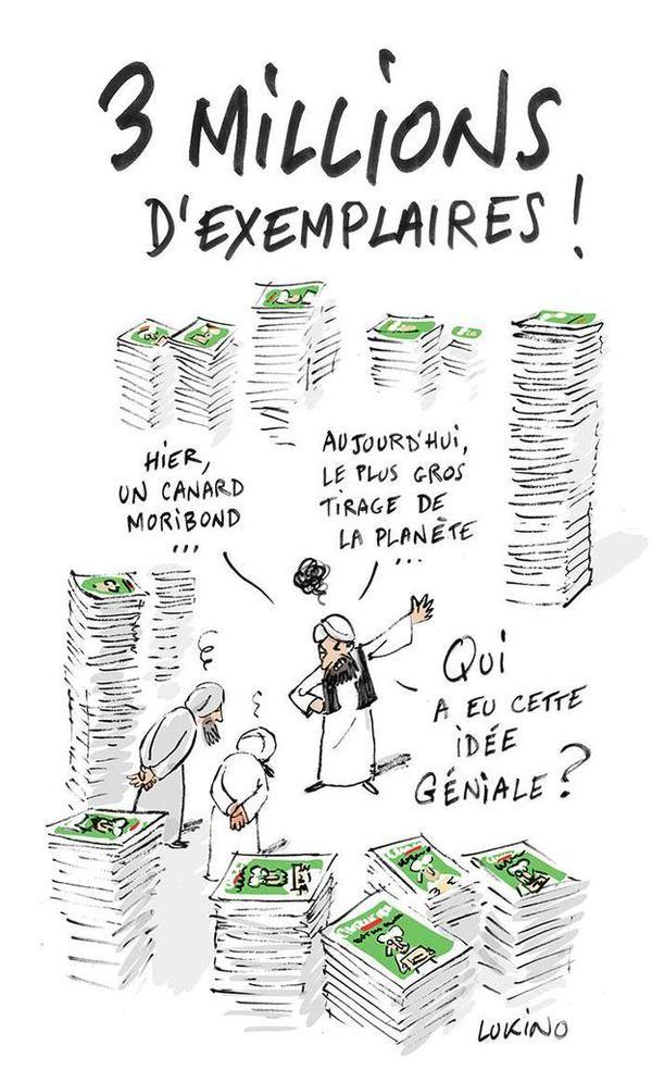 +5 M ex Charlie Hebdo