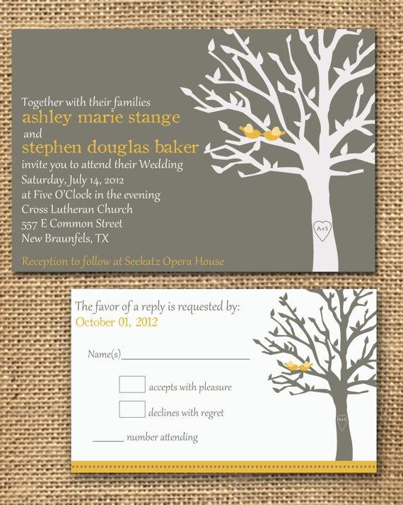 tree invitation.
