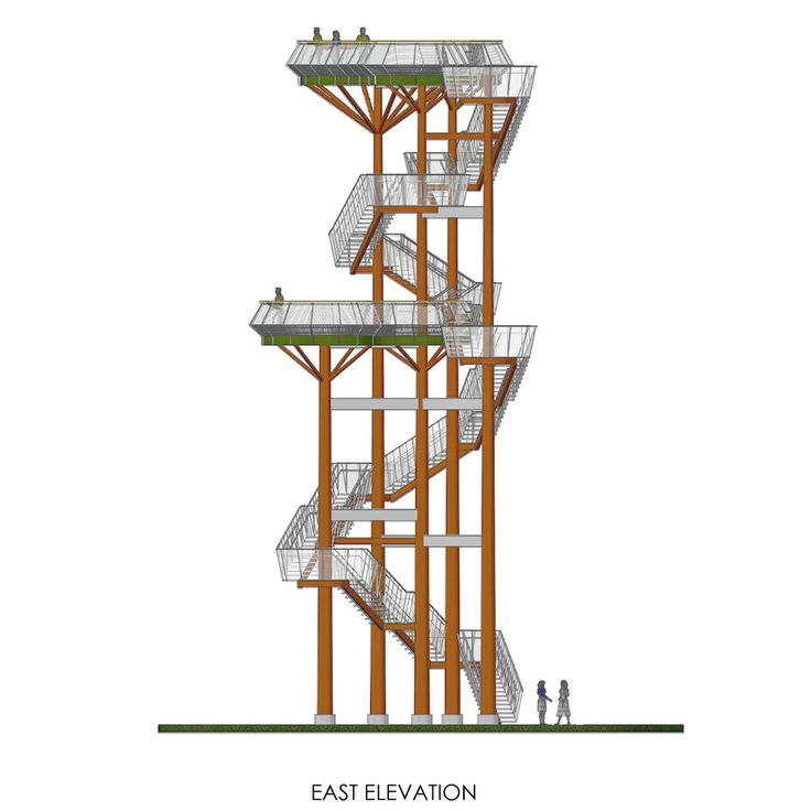 56 best images about towers on pinterest in the clouds for Observation tower plans