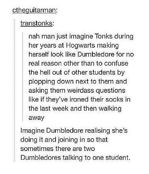 This is why we need a series about the Marauders + company.