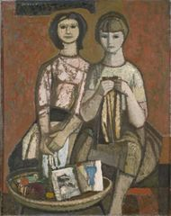 Lepo Mikko – 'Õmblevad tütarlapsed', 1965 | EKM Digitaalkogu