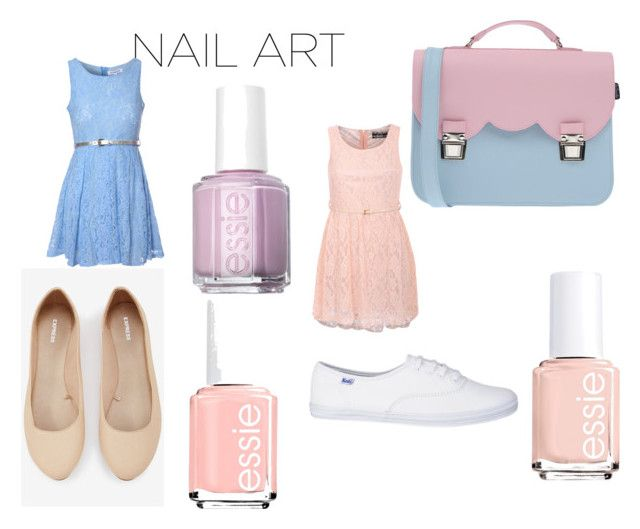 """Pale nail polish contest Polyvore 2016"" by shycoygirl65 ❤ liked on Polyvore featuring beauty, Glamorous, Pilot, Express, La Cartella, Essie and pastelnails"