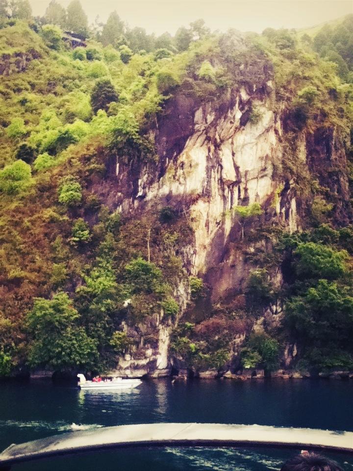 Batu Gantung, one of much stories in Danau Toba, Parapat, Sumatera Utara, Indonesia.....