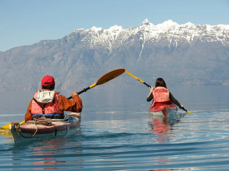 Puerto Tranquillo, just one of the many stunning places to sea kayak in Chilean Patagonia.