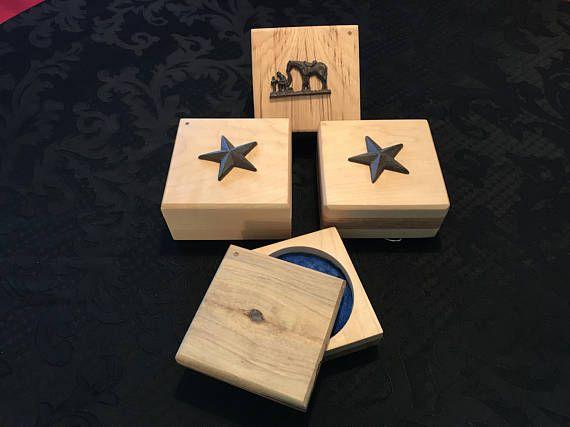 Small Wooden Keepsake Box