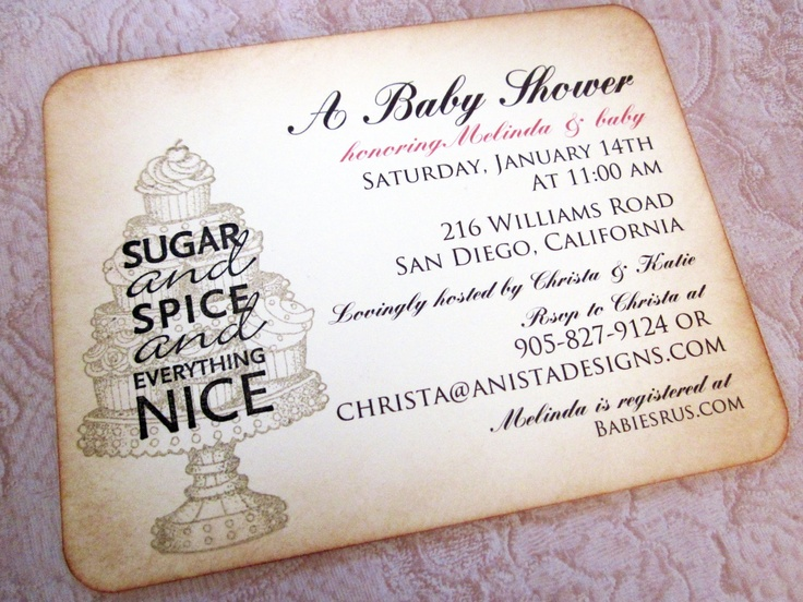 86 best images about shower invitation ideas on pinterest | themed, Baby shower invitations