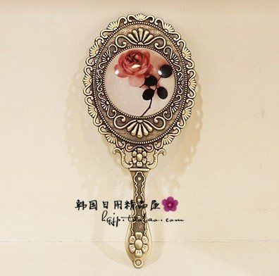 14 Best Images About Vintage Hand Mirror On Pinterest