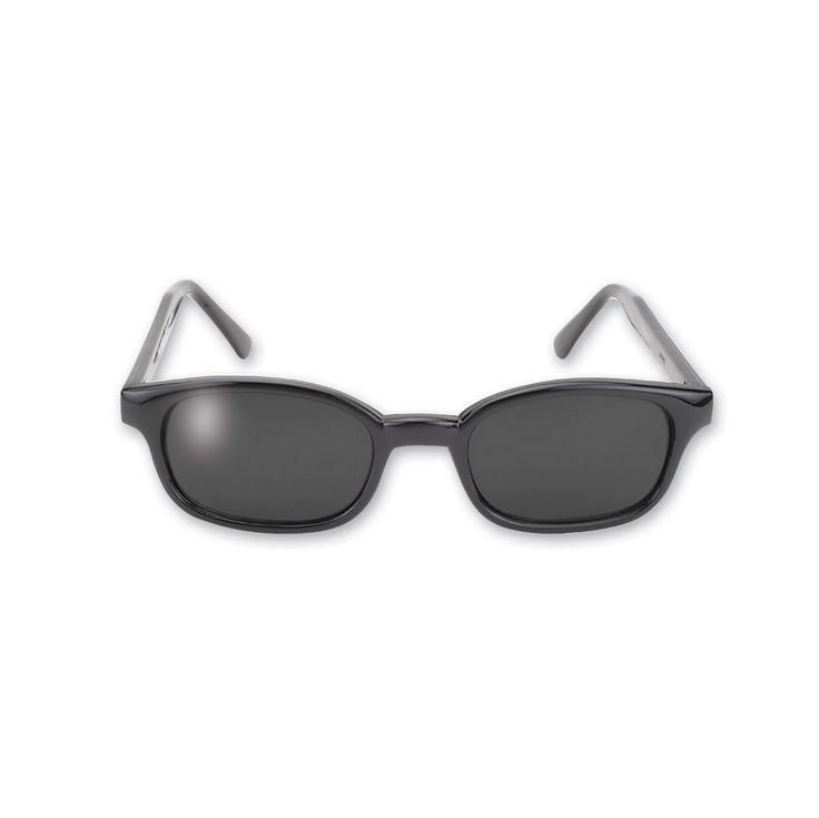 KD's Sunglasses - Black Frame with Dark Grey Lens