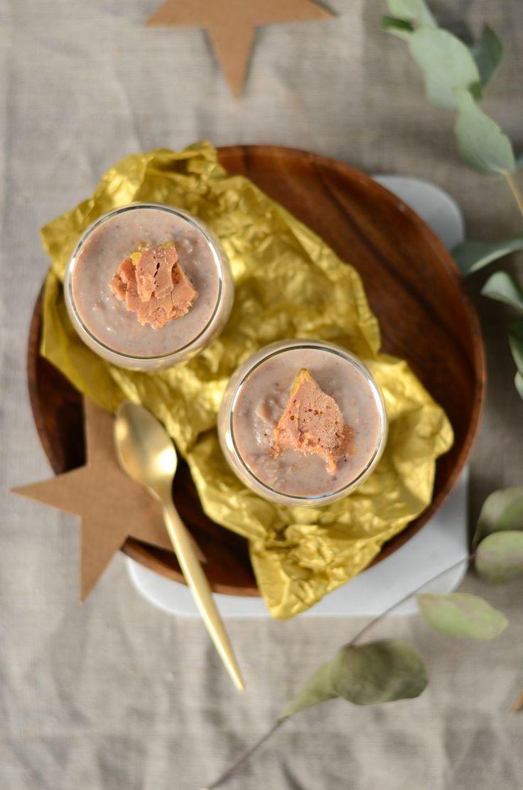 Velouté châtaignes et foie gras