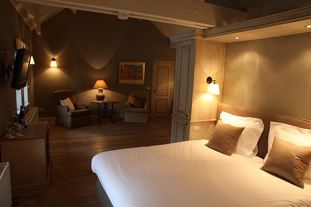 Kamer 24 hotelkamers - Glazen kamer bad ...