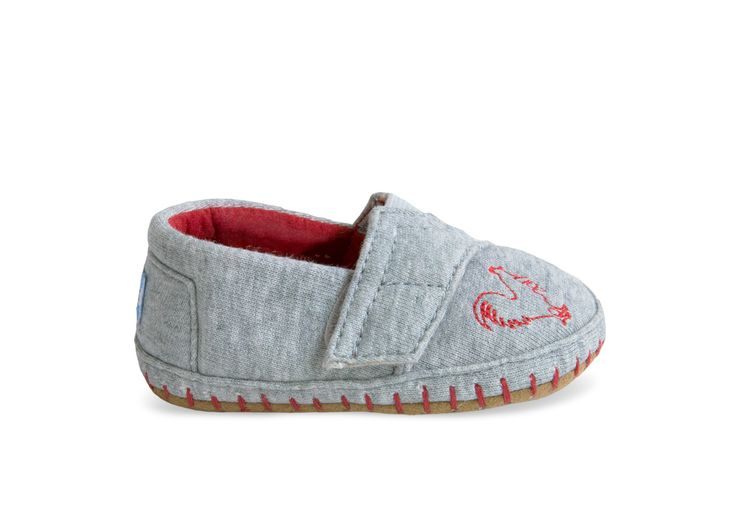 undefined Year of the Rooster Tiny TOMS Crib Alpargatas