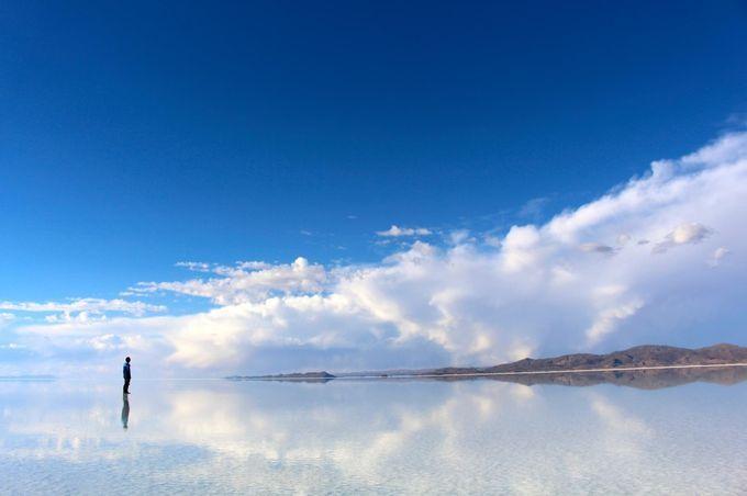 「トゥズ湖」トルコ