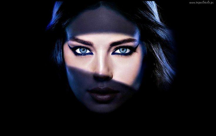 Kobieta, Emily Didonato, Brunetka, Makijaż, Rozświetlone Oczy