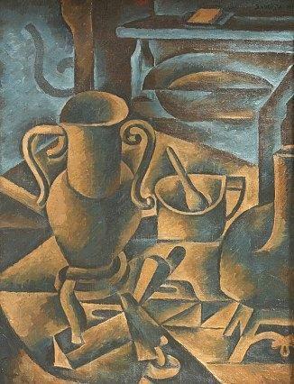 Czech Cubist Artist Bohumil Kubišta (1884–1918)