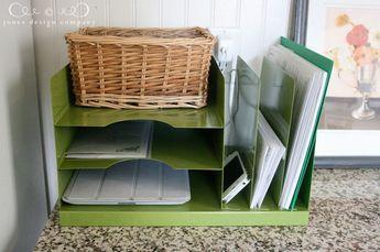 So macht Ordnung Spaß: Mit dieser einfachen Lösung kannst du deine Post übersichtlich sortieren: Einladungen, Rechnungen, Briefe, Coupos etc. bekommen eigene Fächer. Der Rest wandert gleich ins Altpapier.