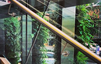 A series of living walls designed for Crowne Plaza in Auckland.