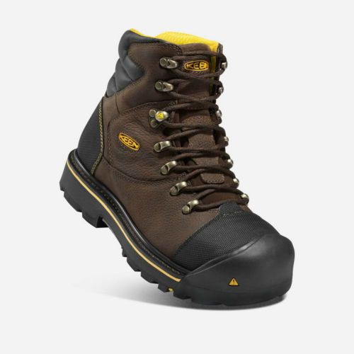 KEEN-Utility-Men-039-s-Milwaukee-6-034-Steel-Toe-Safety-Work-Boot-Black-NEW-shoes