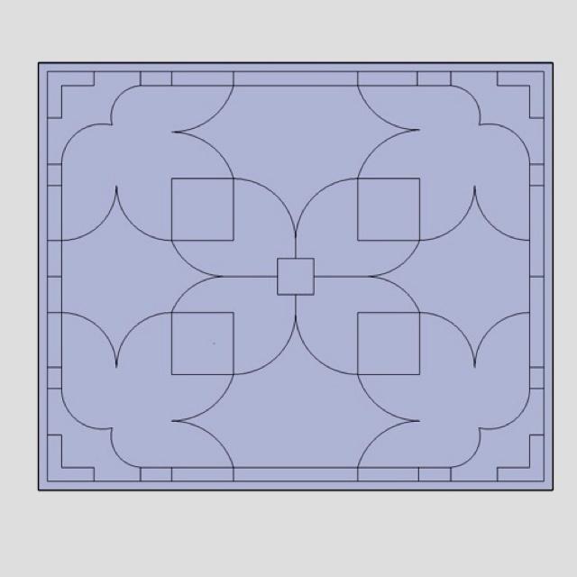 Second option for a custom designed plaster ceiling.  www.crownplaster.com info@crownplaster.com