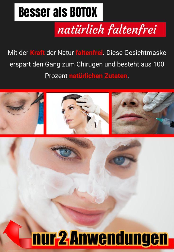 1..2..3… Faltenfrei! Diese Gesichtsmaske wirkt besser als Botox.