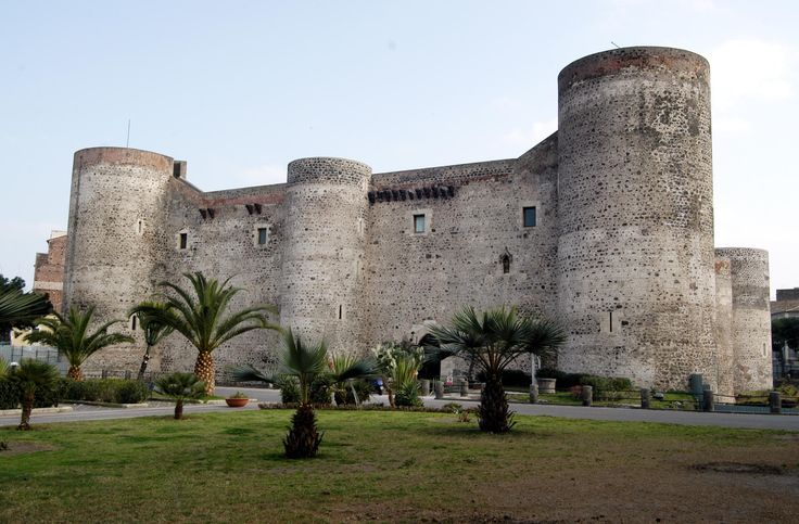 Ursino Castle, founded by Frederick II of Svevia in the XIII century
