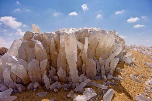Crystal Mountain, White Desert National Park, Egypt