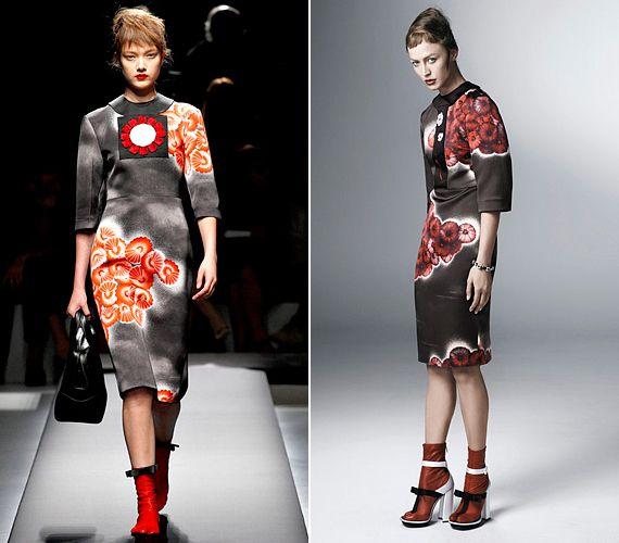 A merev ruhafazonokban az amerikai retró és a hagyományos japán öltözékek stílusjegyei találkoznak, modern elképzelésbe ültetve.