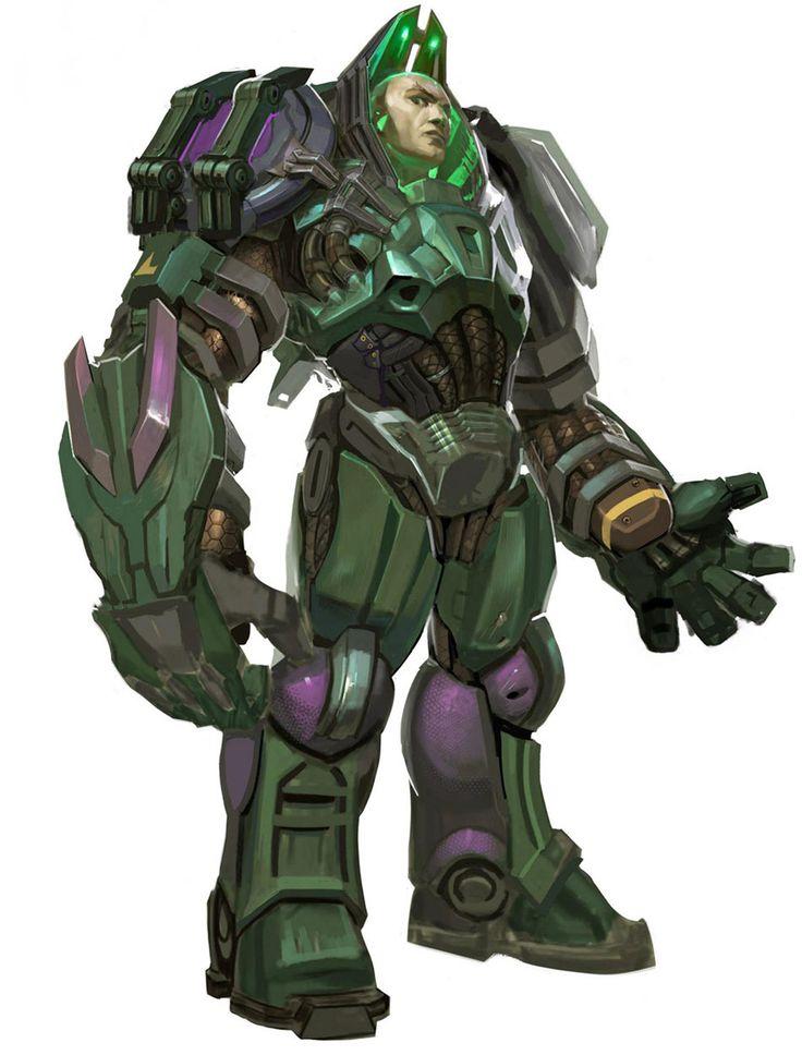 Lex Luthor Concept