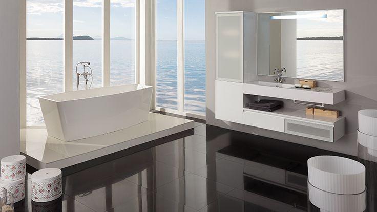 Стильный, качественный, современный дизайн ванной комнаты