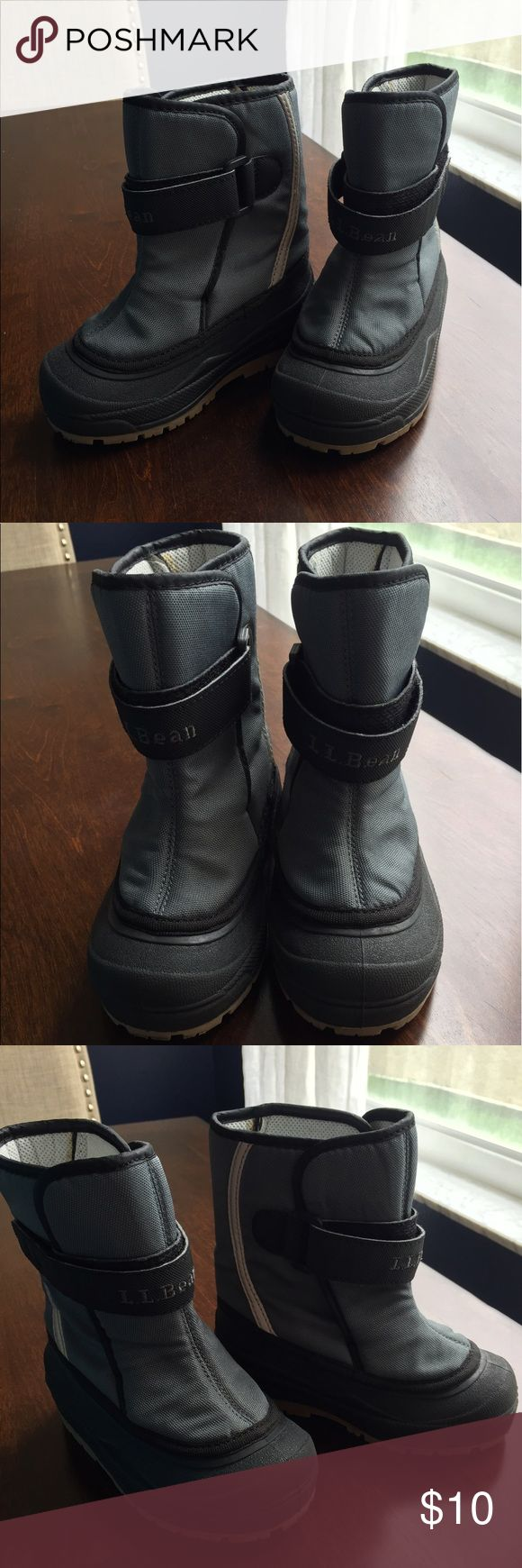 Toddlers winter boots LL Bean Winter Snow boots- brand new worn twice. L.L. Bean Shoes Rain & Snow Boots