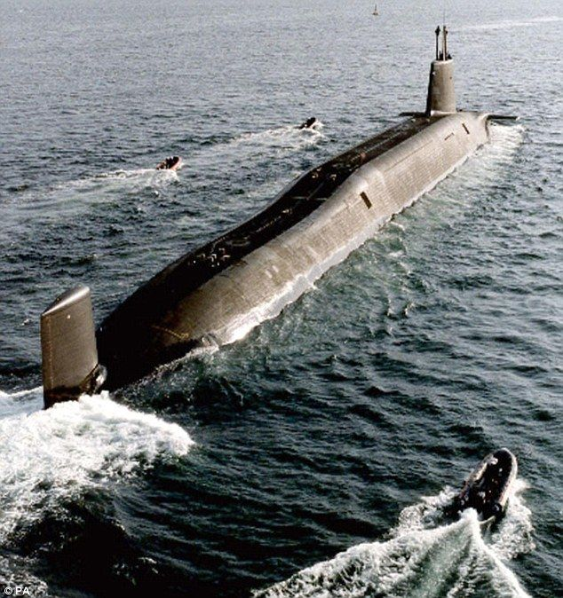 Royal Navy - HMS Victorious (Vanguard Class Trident Submarine)