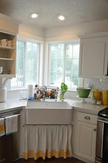 Corner Farmhouse Sink 119 best kitchen images on pinterest | gray kitchens, kitchen