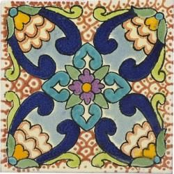 Like the colors of this mexican tile.