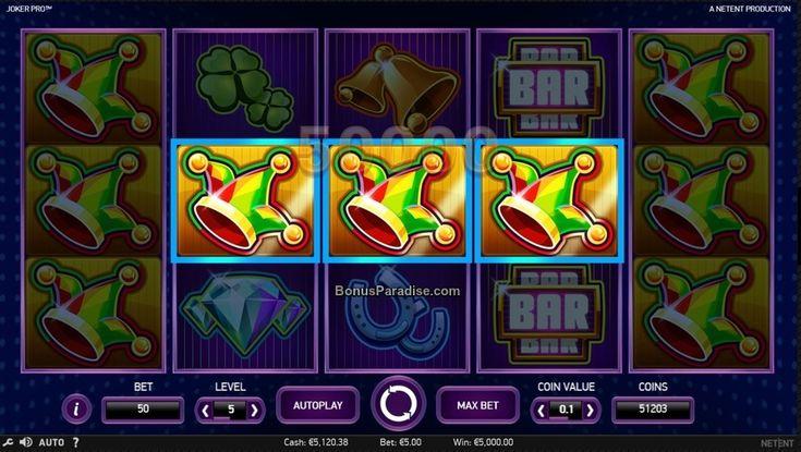 Hot Spot Win on Joker Pro Slot