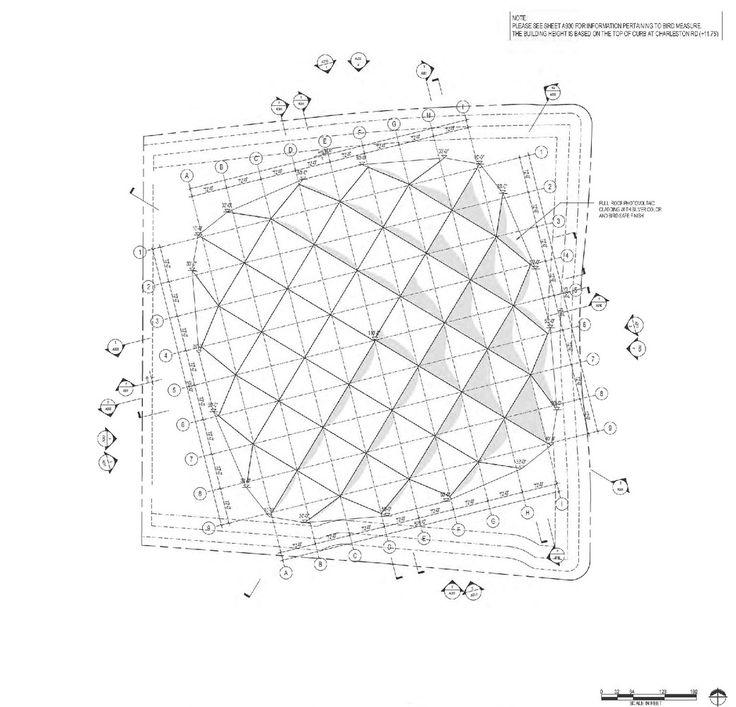BIG y Heatherwick actualizan diseño del nuevo campus de Google en Mountain View,Roof Plan
