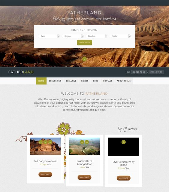 Best  More Of The Best Wordpress Themes For Travel  Tourism